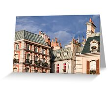 Roofs in Paris Greeting Card