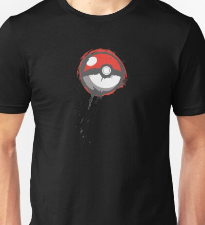 Grunge Pokeball Unisex T-Shirt