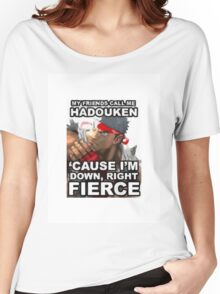 Hadouken Women's Relaxed Fit T-Shirt