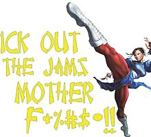 Chun Li, Kick out the Jams by ducane007