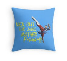 Chun Li, Kick out the Jams Throw Pillow
