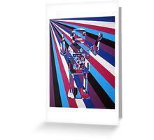 Robot No4 Greeting Card