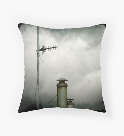 Aerials & Chimneys Throw Pillow