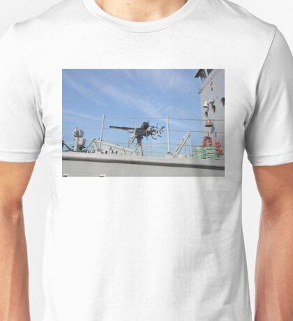Vintage Oerlikon Gun Unisex T-Shirt