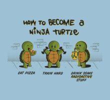 Become a Ninja Turtle Kids Tee