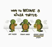 Become a Ninja Turtle One Piece - Short Sleeve