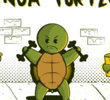 Become a Ninja Turtle Sticker