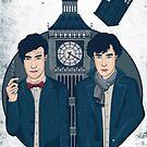 Doctor Who & Sherlock by gemlovesyou
