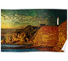 Sunrise on the Cliffs  Poster