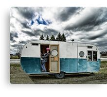 Queen Of The Trailer Park Canvas Print