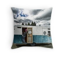 Queen Of The Trailer Park Throw Pillow