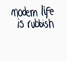 Modern life is rubbish Long Sleeve T-Shirt