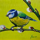 Bluetit by Janna  Nendels