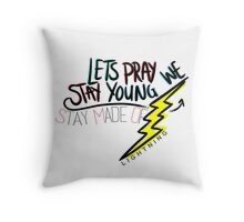 Girl Almighty Throw Pillow