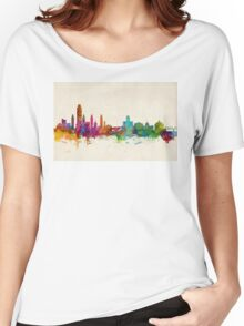 Albany New York Skyline Women's Relaxed Fit T-Shirt