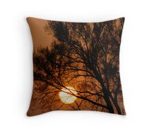 Sunsets Growing On Trees Throw Pillow
