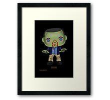 Zombie Shane Framed Print