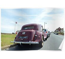 Vintage Traction Avant Poster