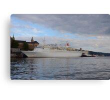 Cruise Ship Black Watch Canvas Print