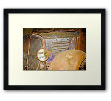 Dusty and rusty 2 Framed Print