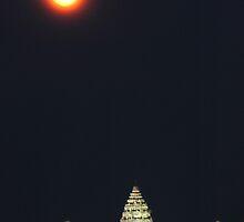 Angkor by night by Jason Kumar