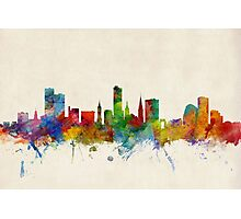 Leicester England Skyline Photographic Print