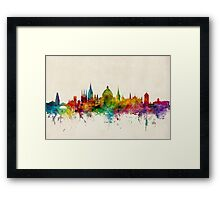 Oxford England Skyline Framed Print