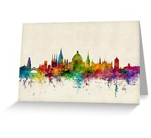 Oxford England Skyline Greeting Card