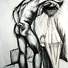 Life Drawings 1 by Garth Horsfield