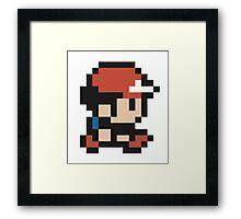 Ash Ketchum - Pokemon - Pixel Framed Print