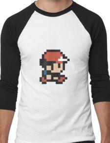 Ash Ketchum - Pokemon - Pixel Men's Baseball ¾ T-Shirt
