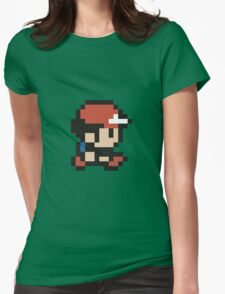 Ash Ketchum - Pokemon - Pixel Womens Fitted T-Shirt