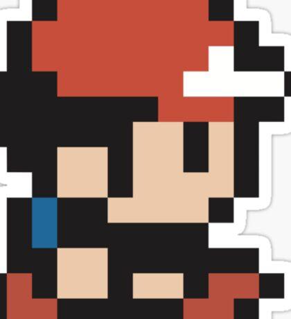 Ash Ketchum - Pokemon - Pixel Sticker