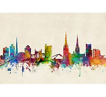 Coventry England Skyline Photographic Print