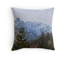 """""""Mount Angeles - Olympic National Park"""" Throw Pillow"""