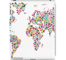 Stars Map of the World Map iPad Case/Skin