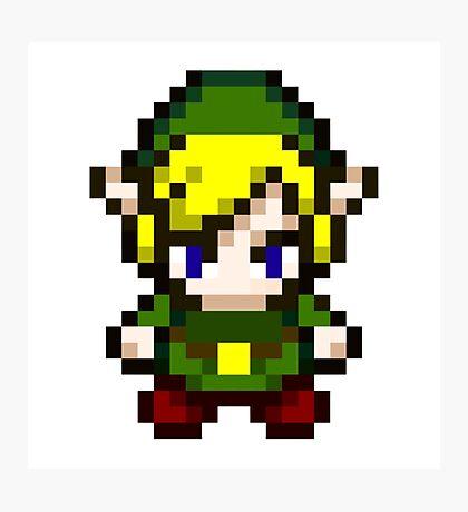 Zelda - Pixel Photographic Print