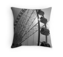 Sky Wheel Throw Pillow