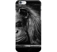 Sleeping Chimpanzee iPhone Case/Skin