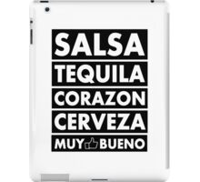 Salsa Tequila Corazon.. iPad Case/Skin