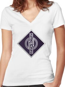 Neumann Microphones DP Women's Fitted V-Neck T-Shirt