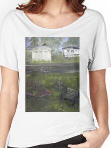 My Backyard - En plein air  Women's Relaxed Fit T-Shirt