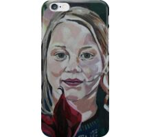 Child's Portrait iPhone Case/Skin