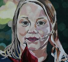 Child's Portrait by Marjolein