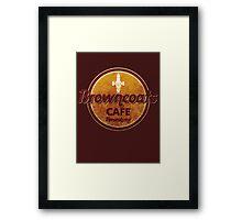 BROWNCOATS CAFE Framed Print