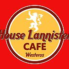 HOUSE LANNISTER CAFE by karmadesigner