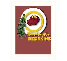 Potato Redskins Art Print