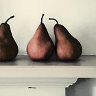 Three Pears by RebeccaT