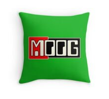 Moog  Synth WBR  Throw Pillow