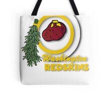 Pocket Version Tee Potato Redskins Tote Bag